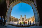 Nasir al-Mulk Mosque in Shiraz Arcade — Stock Photo