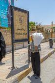Shiraz salesman — Stock Photo