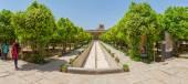 Shiraz Citadel inside garden — Stock Photo