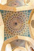 Cúpula de techo de nasir al-mulk mezquita — Foto de Stock