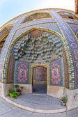 Nasir al-Mulk Mosque passage fisheye — Stock Photo