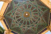 Tomb of Hafez ceiling mosaic — Stock Photo