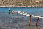Balos beach in Crete. Mediterranean landscape. Greece — Stock Photo