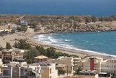 Paleochora beach in Crete. Greece. Lybian sea — Foto de Stock