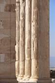 Acropolis of Athens. Erechtheion columns. Greece — Stock Photo
