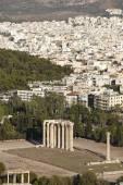 Temple of Zeus in Athens. Greece — Stock Photo