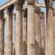 Temple of Zeus in Athens. Corinthian order. Greece — Stock Photo #53017745