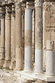 Ionic columns at Hadrians library in Athens. Greece — Stock Photo