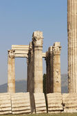 Temple of Zeus in Athens. Corinthian order. Greece — Stock Photo