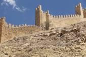 Picturesque town in Spain. Defending wall. Albarracin. Teruel — Stockfoto