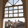 View of Salvador da Bahia from a window — Stock Photo #58577599
