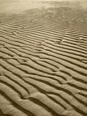 Sand beach background in sepia tone — Stockfoto