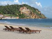 Morro de Sao Paulo beach. Salvador da Bahia. Brazil — Stockfoto