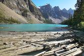 Moraine lake landscape. Alberta. Canada — Stock Photo