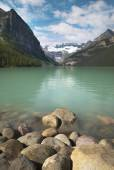 Canadian landscape in Lake Louise. Alberta. Canada — Stock Photo