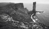Scottish landscape in Orkney. Old man of Hoy. Scotland — Stock Photo