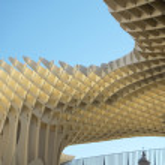 Metropol view point detail in Seville, Las setas. Spain — Stock Photo #65357615