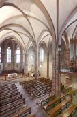 Notre Dame Du Bout Du Pont church interior in France — Stock Photo
