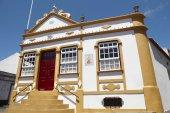 Traditional azores chapel. Imperio dos Quatro Cantos. Terceira. — Stock Photo