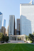 Wrigley Square in Millenium Park — Stock Photo