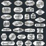 Vintage sale labels collection design elements, Premium quality — Stock Vector #56552725