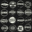 Grunge rubber stamps set — Stock Vector #62174565