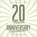 Colección aniversario — Vector de stock  #62777689