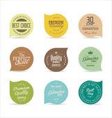 Modern vintage badges — Cтоковый вектор
