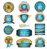 Retro badges and labels collection — Stock Vector