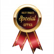 Best choice Special offer label — Stock Vector #70376679
