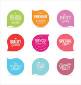 Modern badges collection — Stock Vector