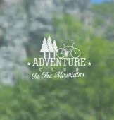 Adventure club background — Stock Vector