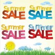 Set of Summer sale icons — Stock Vector #78430472