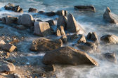 Stones on coast ten — Stock Photo