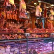 Barcelona Meat Stall — Stock Photo #52916657