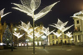 Wiesbaden in Germany during Christmas — Stock Photo