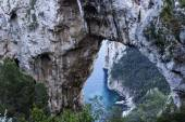 Arco Naturale in Capri, Italy — Stock Photo