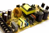 Power supply board — Stock Photo