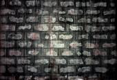 レンガ ブロックの壁 — ストック写真