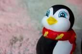 Penguin figurine cute Ceramics — Stock Photo