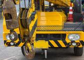 Basket Construction car — Stock Photo