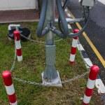 Poles Rounding defense steel — Stock Photo #67292529