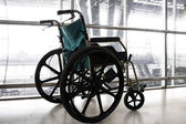 Wheelchair service in airport — Stock Photo