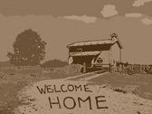 Welcome home vintage — Stock Photo