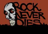Rock never dies — Foto Stock