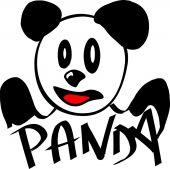 Icône de panda — Vecteur