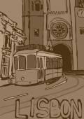 Lisbon vintage — Stock Photo