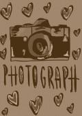I love photograph vintage — Foto de Stock