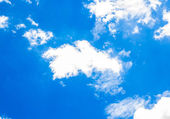 Blue sky with could — Stock Photo