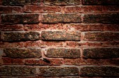 Old brick wall background — Stock Photo
